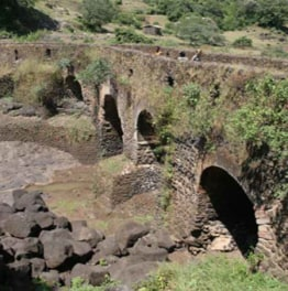 day tour from addis ababa to Debre libanos & blue nile gorge