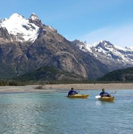 Half-Day Kayaking Trip on Las Vueltas River in El Chalten