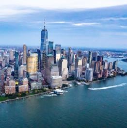 Gaze over the cityscape of Big Apple