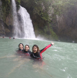 Try Canyoneering at Kawasan Falls