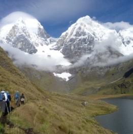 Trek through the toughest ranges of Peru