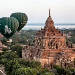 14 hour Bagan Pagodas & temples excursion with sunset view