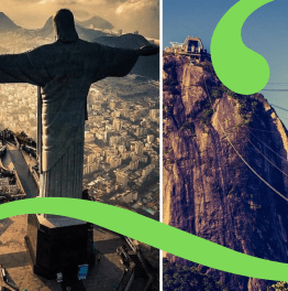 5 hour trip to Corcovado & cable car to Sugarloaf mountain