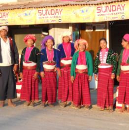 Trek through the rural villages of Taunggyi District