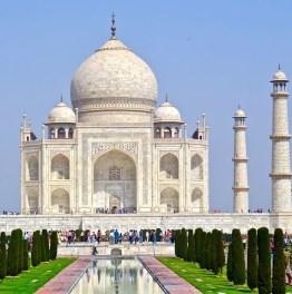 Full Day Taj Mahal, Agra Fort, Itmad-ud-Daula & Mehtab Bagh Tour From Delhi
