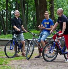 Bicycle Around the Latvian Capital