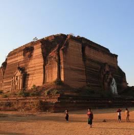11 hour Mandalay pagodas & Mingun jetty tour