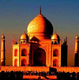 Visit Taj Mahal at sunrise and explore Agra Fort