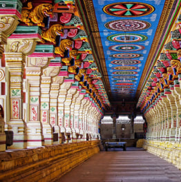 Tour the ancient temples of South India