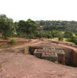 day tour to Church Ruins at lalibela in ethiopia