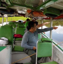 5-Hour Shore Excursion & Fishing At Solimões River