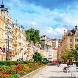 2-Hour Walk Through Iconic Karlovy Vary Highlights