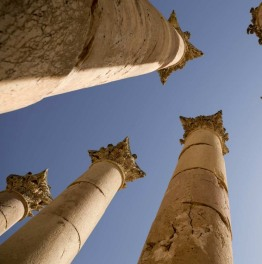 Gaze Upon Roman Ruins in Jordan
