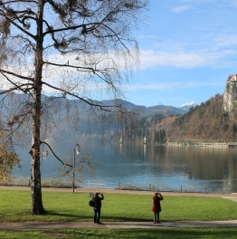 Head to Slovenia to explore the capital city and Lake