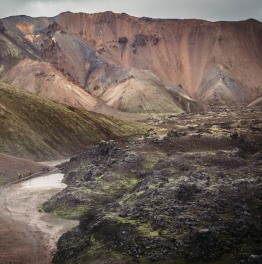 Hike in the Highlands of Iceland & relax at Hot Springs