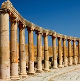 Drop by this ancient Roman city in Jordan