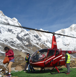 Enjoy a Thrilling ABC Helicopter Ride
