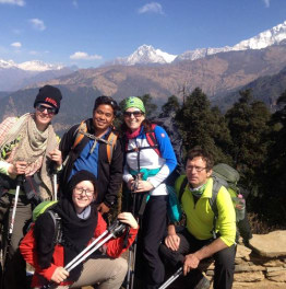 Celebrate the beauty of the Himalayas through a trek