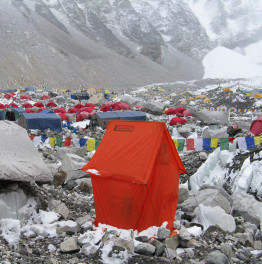 Trek to the base of Everest