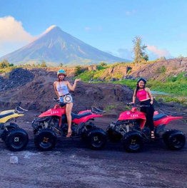 Ride to Mt. Mayon and unwind at charming beaches