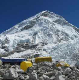 Admire Mount Everest from its Foothills