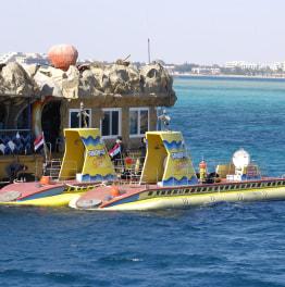 3-Hour Submarine Visit in Hurghada