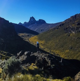 Head for Sirimon-Chogoria Trek
