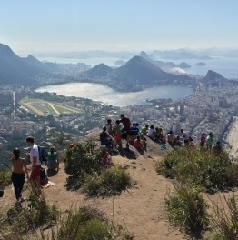 5 hour Hiking to Dois Irmaos & Vidigal in Rio