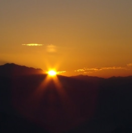 Sign Up to a Beautiful Sunrise in the Enchanting Mountains