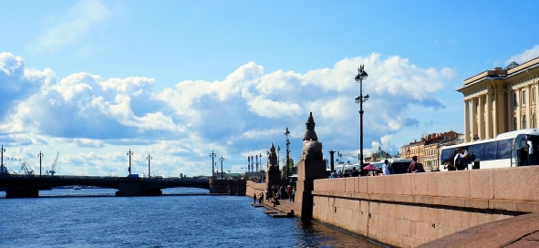 5 Places in St. Petersburg to make a wish