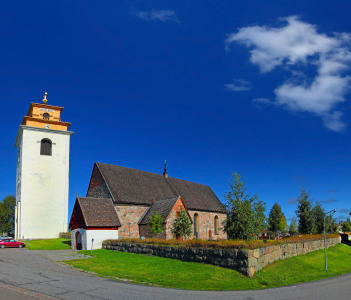 Gammelstad Church Town is a UNESCO World Heritage Site, situated in Gammelstaden near the city of Lulea, Sweden