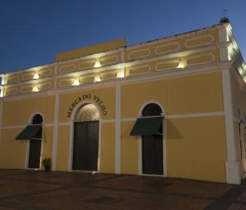 Old Market the historic center in Rio Branco city
