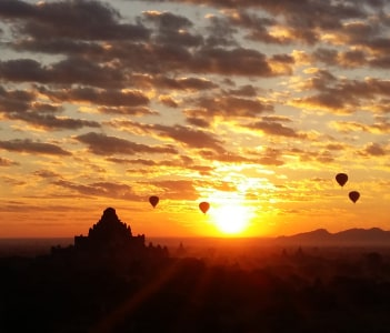 Splendid sunrise