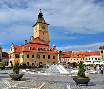 Administrative Centre in Brasov, capital of Transylvania province