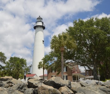 St. Simon's Island in Georgia USA
