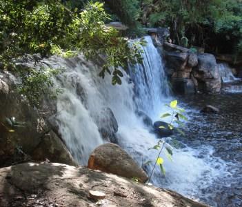 A mini waterfall in Rustenburg South Africa