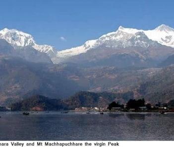 Mt Machhapuchhare
