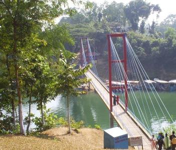 Hanging Bridge in Rangamati