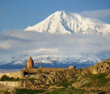 Ancient monastery Khor Virap in Armenia