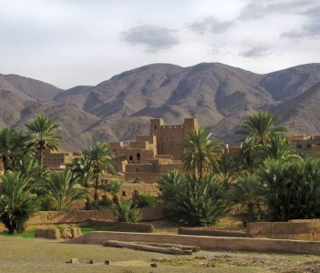 Valley of 1000 kasbah, Skoura