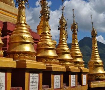Mount Popa Stupas