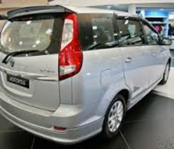 Proton Exora 7 seater car