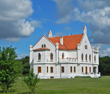 """Castle """"captain"""" was built by Bishop Hybro Bela 1904 years. The castle is located along the road way Zrenjanin - Vrsac."""
