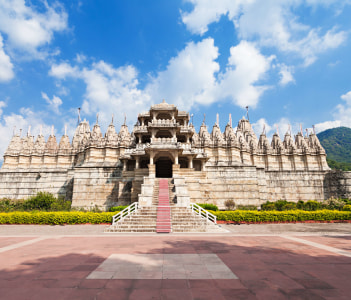 Ranakpur Temple is a jain temple in Rajasthan, India.