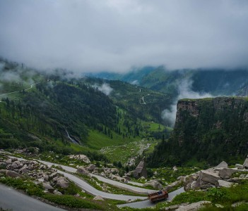 Rohtang pass - Leh to Manali Journey