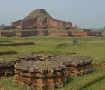 'Paharpur' Highest Buddhist stupa south of Himalaya. UNESCO world heritage site.