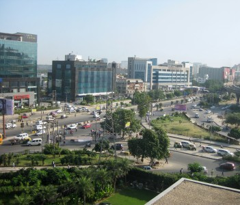 Financial Hub Gurgaon Haryana India