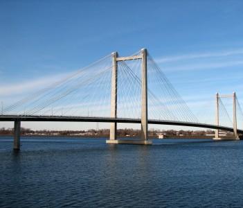 Cable Bridge in Richland