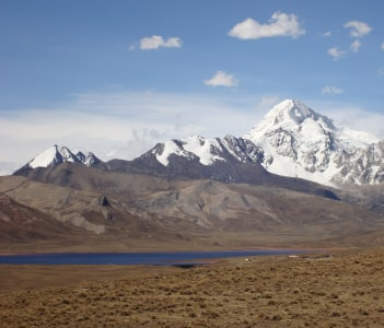 Volcano Huayna