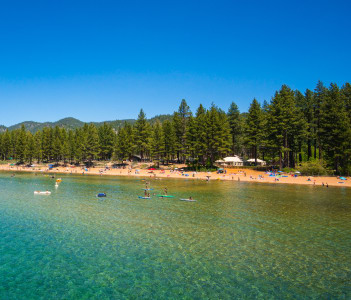 Beautiful Lake Tahoe, Carson (California), USA